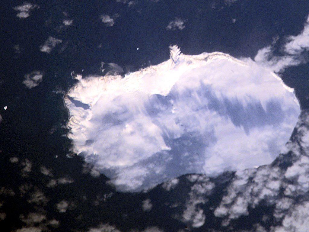 Bouvet Island, Copyright: NASA
