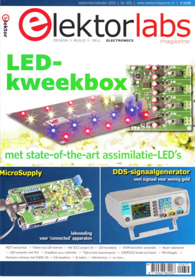 Elektorlabs magazine sept/okt 2019